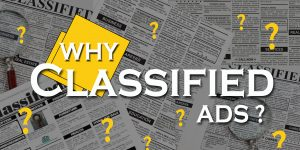Why Classified Ads